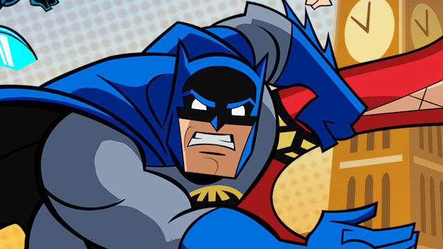 Batman: The Brave and the Bold Art