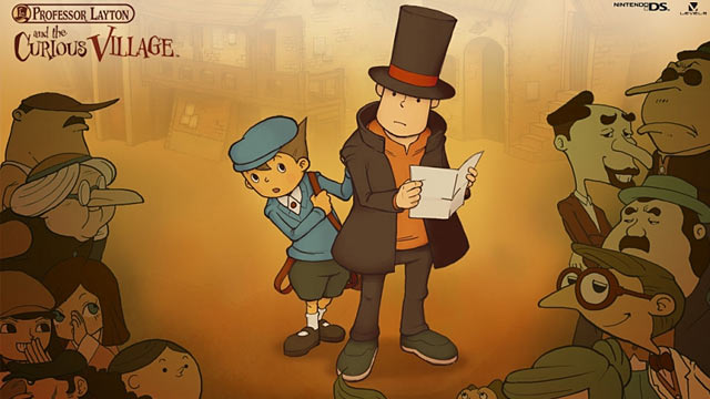 Professor Layton and the Curious Village Art