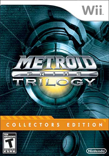 Metroid Prime Trilogy Box Art