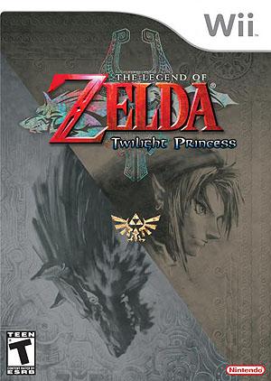 Zelda: Twilight Princess Box Art