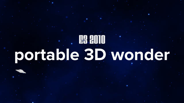 E3 2010 Round Table: 3DS Reactions