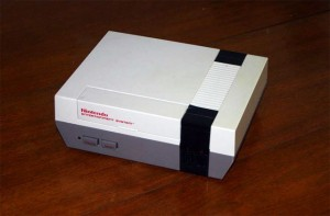A Nintendo Entertainment System Console