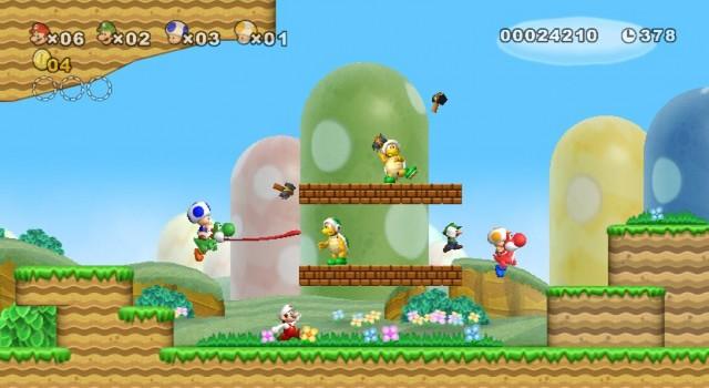 New Super Mario Bros Wii Screenshot