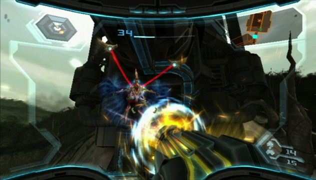 Metroid Prime 3: Corruption Screen