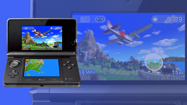 Pilotwings Resort on 3DS