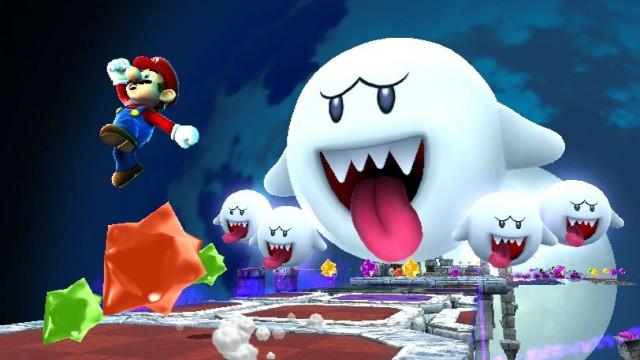 Super Mario Galaxy 2 Screenshot - Boos