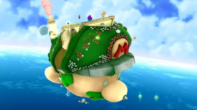 Super Mario Galaxy 2 Screenshot - Starship Mario