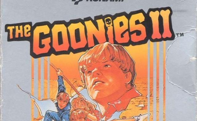 Goonies II boxart
