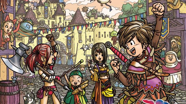 Dragon Quest IX Artwork