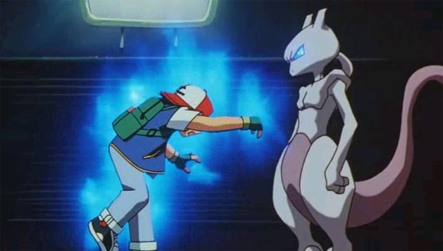 Pokémon The Movie: Mewtwo Strikes Ash