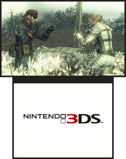 Metal Gear Solid Snake Eater 3D Screenshot
