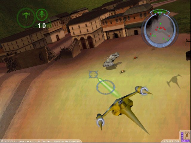 Star Wars: Battle for Naboo Screenshot