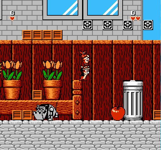 Chip 'N Dale: Rescue Rangers Screenshot