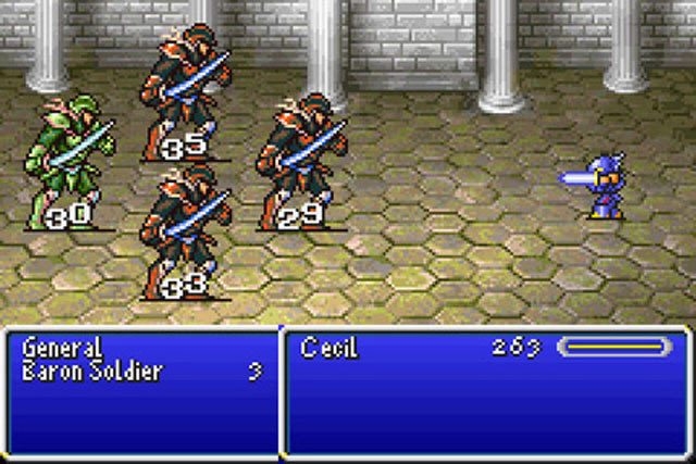 Final Fantasy IV Advance Screenshot