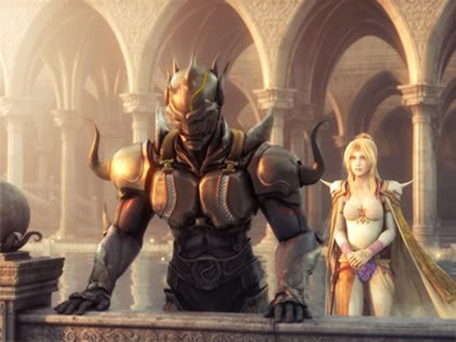 Final Fantasy IV (Remake) Screenshot