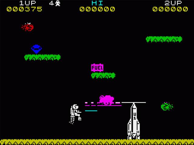 Jet Pac Screenshot