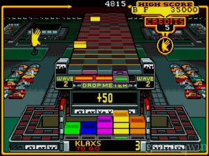 Klax Screenshot (PC Version)