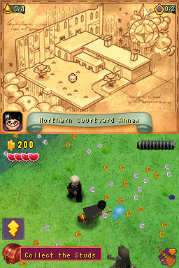 LEGO Harry Potter: Years 1 - 4 (DS) Screenshot