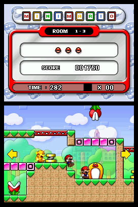 Mario vs. Donkey Kong: March of the Minis Screenshot