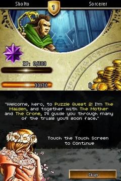 Puzzle Quest 2 Screenshot