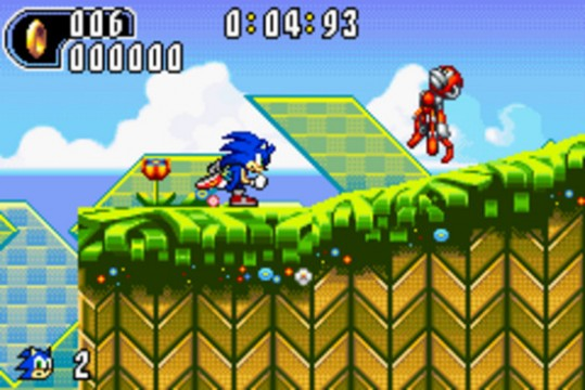 Sonic Advance Screenshot
