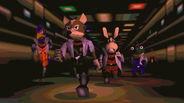 Star Fox 64 Screen