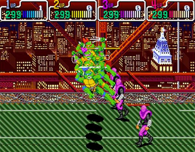 Teenage Mutant Ninja Turtles: Turtles in Time (SNES) Screenshot