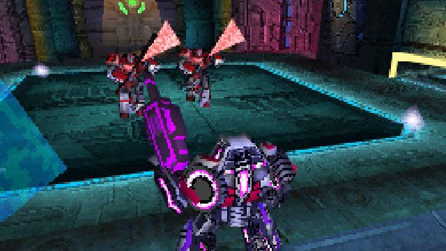 Transformers: War for Cybertron (DS) Screenshot