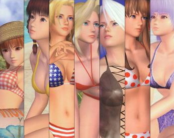 Dead Or Alive Volleyball Artwork