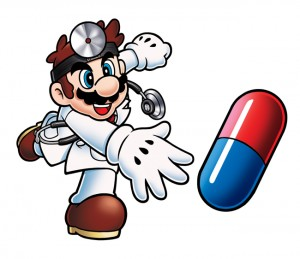 Dr. Mario artwork