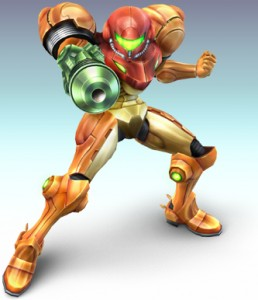 Samus artwork from Super Smash Bros. Brawl