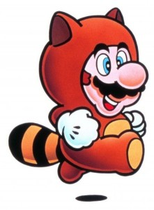Super Mario Bros. 3 artwork Tanuki Suit
