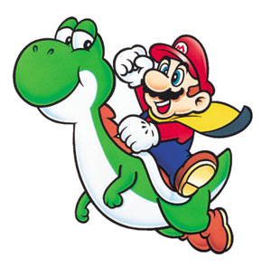 Super Mario World Artwork - Yoshi