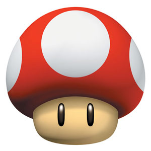 Super Mushroom artwork