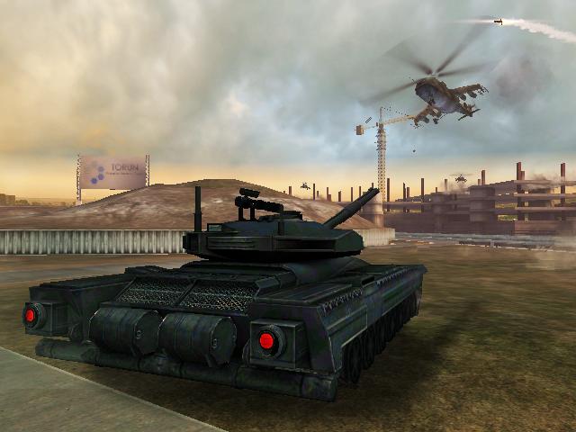 GoldenEye 007 Tank