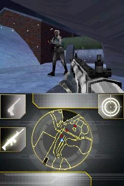 GoldenEye 007 DS Snow