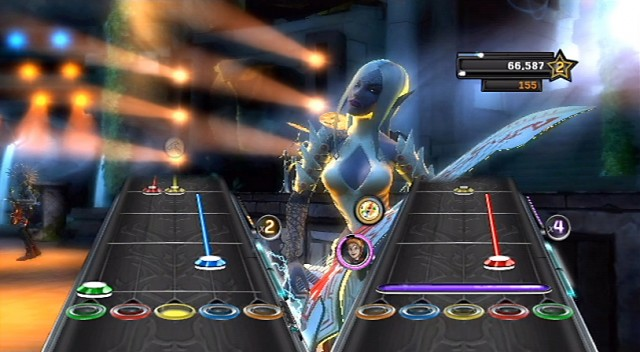 Guitar Hero Warriors of Rock - Lights
