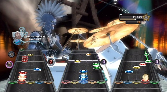 Guitar Hero Warriors of Rock - Multiplier Boost