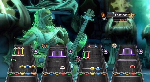 Guitar Hero Warriors of Rock - Warrior Axel
