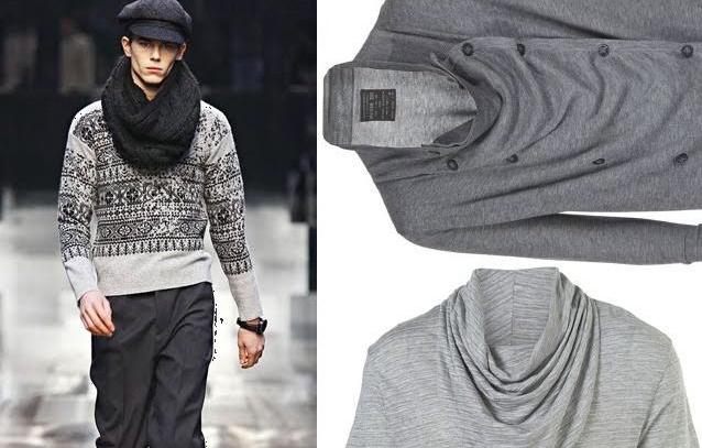 Cowl Grey Style Fashion-Forward