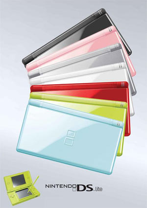 DS Lite Colors