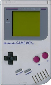 Game Boy promo shot
