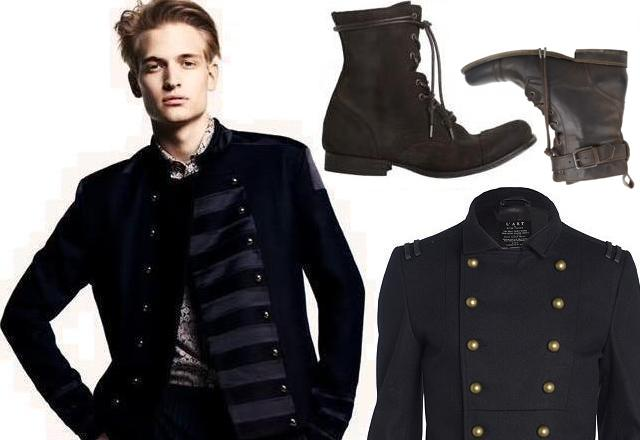 Military style Fashion-Forward