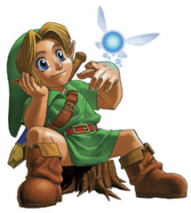 Young Link art