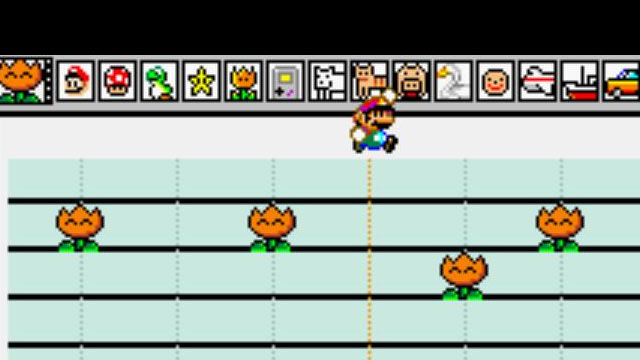 Mario Paint Music Mode