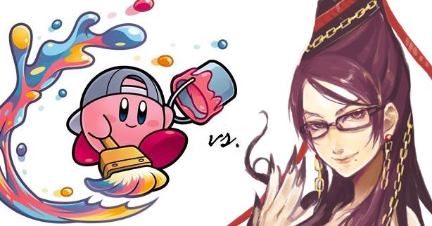 Kirby vs. Bayonetta