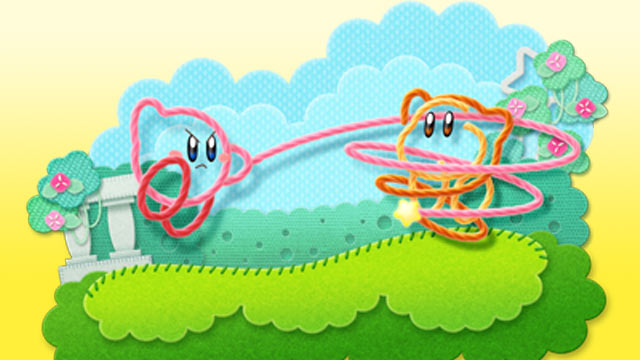 Kirby's Epic Yarn Artwork