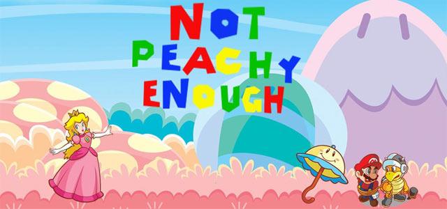 Not Peachy Enough Art