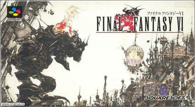 Final Fantasy VI Super Famicom Box Art