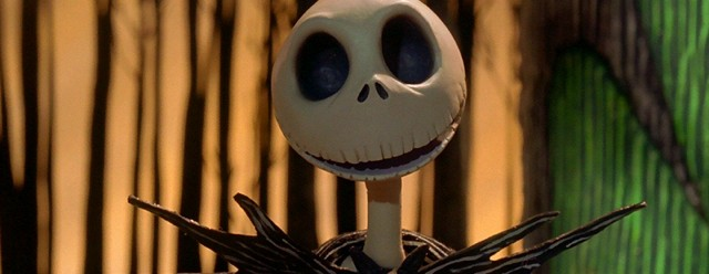 Nightmare Before Christmas Jack Skellington Masthead